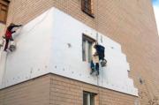 Высотные фасадные работы